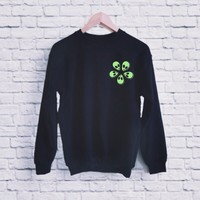 Jamie Alien Flower Sweatshirt