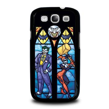 joker and harley quinn art samsung galaxy s3 case cover  number 1