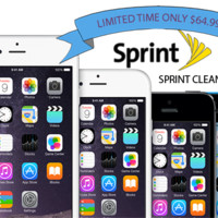Unlock Sprint iPhone 6 Plus 6 5s 5c 5 4s. ONLY Clean IMEI Code 1 to 15 days