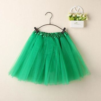 DCCKDZ2 Womens Cute Bubble Skirts Mini Skirts Tutu Pettiskirt Dancewear Party Skirts