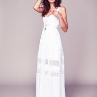 Free People Free People Jill's Limited Edition White Story Dress