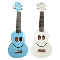 "Freeman UK-01 21"" Smile Face Basswood Ukulele"