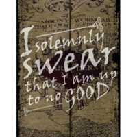 Harry Potter Solemnly Swear Poster