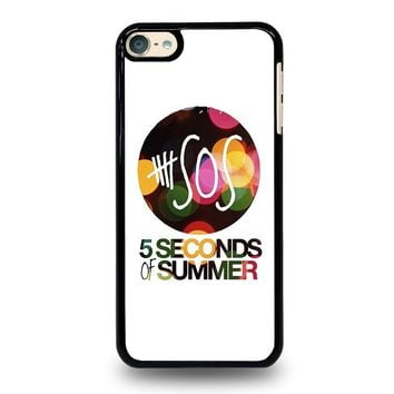 5 SECONDS OF SUMMER 5 5SOS iPod Touch 6 Case Cover