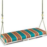 Bench Pick Me Up Swinging, Acrylic / Lucite, Outdoor Porch Swings