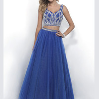 Intrigue 295 Two Piece Prom Dress