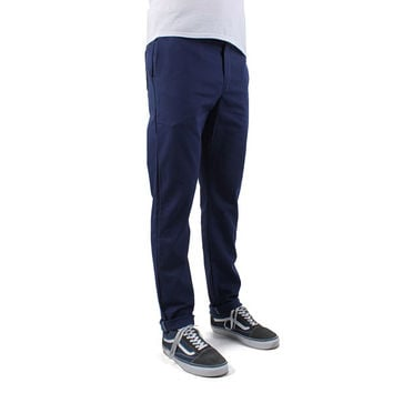 Dickies 803 Slim Skinny Twill Work Pants - Deep Blue at Urban Industry
