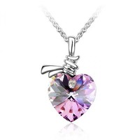Listen to My Heartbeat Necklace with SWAROVSKI ELEMENTS Design