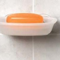 Suction Storage Soap/Sponge Dish #14250