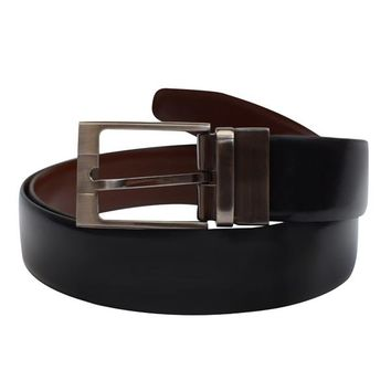AFONiE Reversible 100% Cowhide Genuine Leather Belt