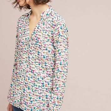 Rochelle Printed Buttondown