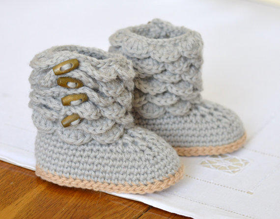 Crochet Pattern Baby Booties Tractor From Matildasmeadow On Etsy