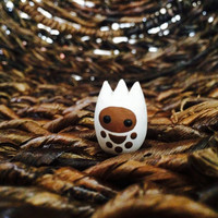 Abominable Tieke - Polymer Clay Animal Totem
