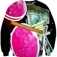 LEAN & CASH CREWNECK