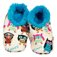 Lazy One Fuzzy Feet Slippers - Owl Yours FF160