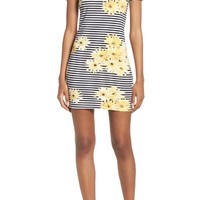 French Connection Sunflower Stripe Sheath Dress | Nordstrom