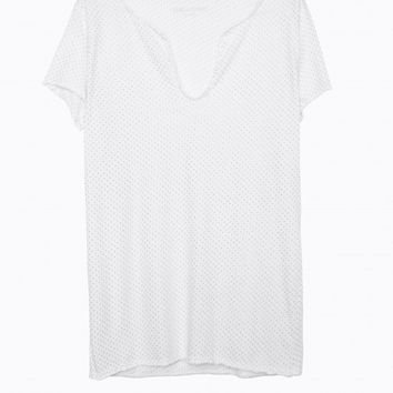 Mc All-Over Henley T-Shirt