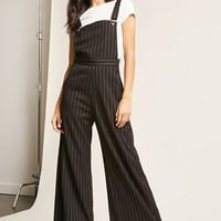 The Style Club Pinstripe Overalls