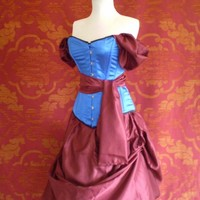 Snow White Corset Outfit-Whole Corset Outfit-MADE FOR BUYER