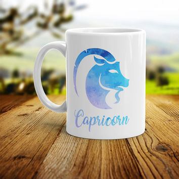 Capricorn Mug - Zodiac Sign Coffee Mug Perfect Gift For Star Lovers