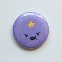 Lumpy Space Princess Button