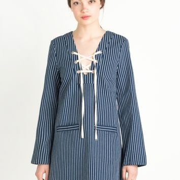 Lily Lyric PinStripe Dress by Alice McCall