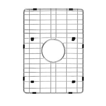 DAX-GRID-SQ1512 / DAX GRID FOR KITCHEN SINK, STAINLESS STEEL BODY, CHROME FINISH, COMPATIBLE WITH DAX-SQ-1512, 12-4/5 X 10-1/4