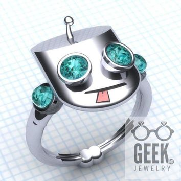 Cool Gir Ring Engagement Ring- Ladies