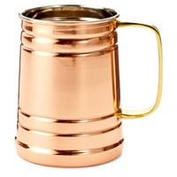 Solid Copper Tankard w/ Brass Handle, Beer Glasses & Mugs