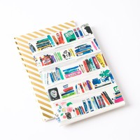 Bella Bookshelf Small Notebooks (Set of 2) by Kate Spade New York