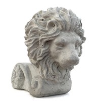 Concrete Lion Pot Feet (Set of 3)
