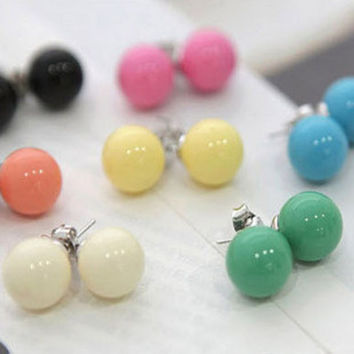 Cute candy earrings
