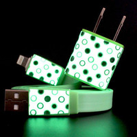 Lou Anne Castillo: 2-in-1 iPhone 5 Set Dot Green, at 6% off!
