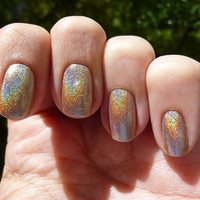 Shampayne Holographic Nail Polish - Full Size Bottle