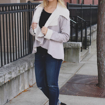 Cooler Territory Jacket - Taupe