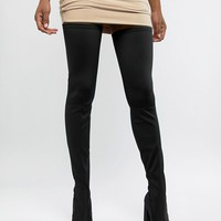 ASOS DESIGN Kera pointed thigh high boots at asos.com