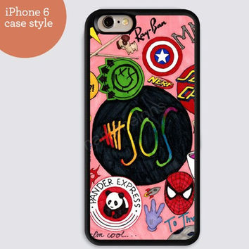iphone 6 cover,sos colorful cartoon design iphone 6 plus,Feather IPhone 4,4s case,color IPhone 5s,vivid IPhone 5c,IPhone 5 case Waterproof 636