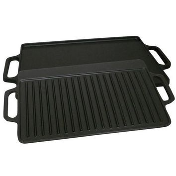 King Kooker #CI21GS- Cast Iron Seasoned Griddle