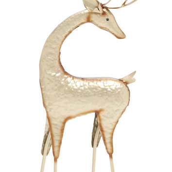Gorgeous Looking Metal Deer Décor