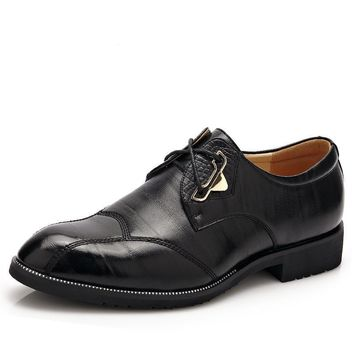 New Classic Men Formal Shoes Casual Oxford Shoes For Men High Quality Men Dress Shoes