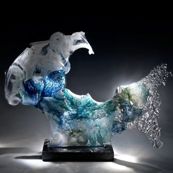 Mischief by Caleb Nichols (Art Glass Sculpture) | Artful Home