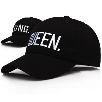 Trendy Winter Jacket high quality KING QUEEN Baseball Cap Snapba 1569ac5616c