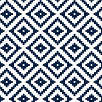 Aztec // navy fabric - littlearrowdesign - Spoonflower