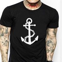 Old Anchor T Shirt for Men