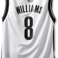 NBA Brooklyn Nets Deron Williams Youth 8-20 Replica Home Jersey, Large, White