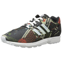 Adidas Womens ZX Flux Printed Lace-Up Fashion Sneakers
