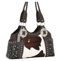 American West Women's Prairie Rose Western Purse