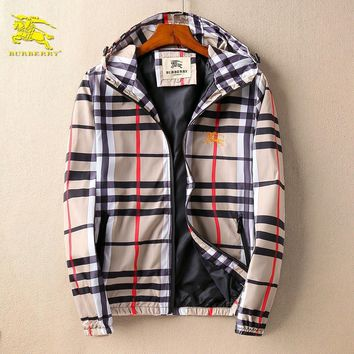 Burberry Cardigan Jacket Coat-7
