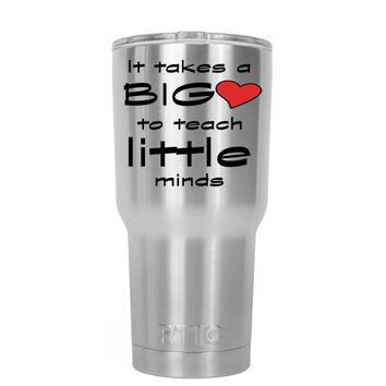 RTIC It Takes a Big Heart to Teach 20 oz Tumbler Cup