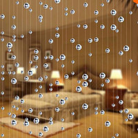 10 m Crystal bead Curtain Fashion Indoor Home Decoration Luxury Wedding backdrop Festive Decoration